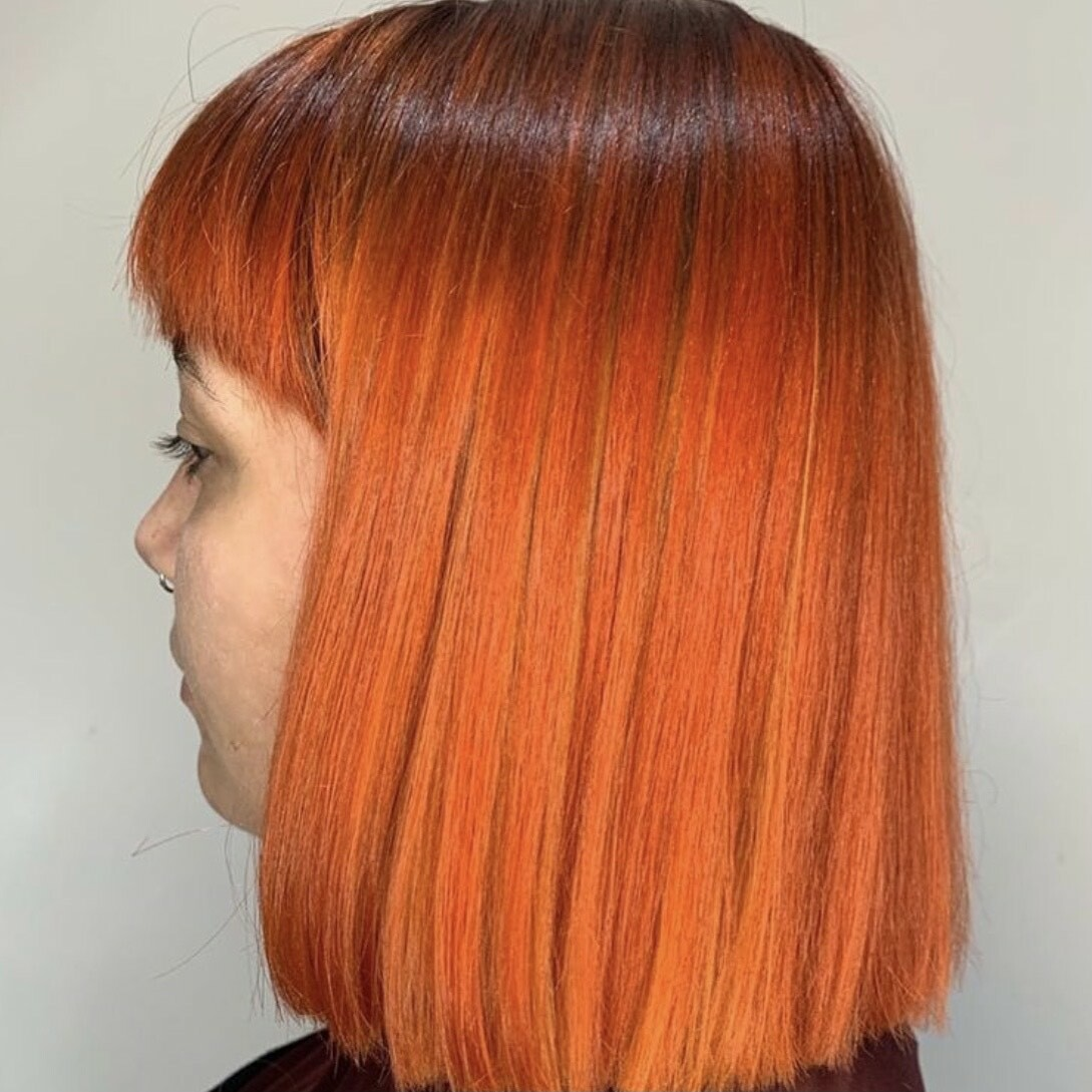 Tangerine x apricot